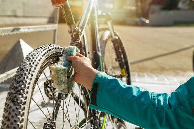 Fahrradkette Putzen